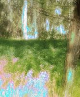 Enchanted Forest BG 05 by mimustock
