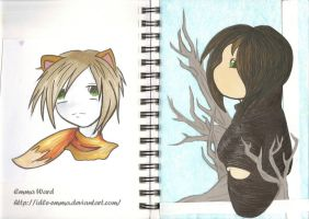 Sketchbook (20) by Idle-Emma