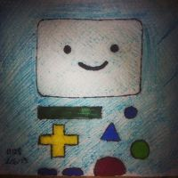 Napkin Art 128 - BMO - Adventure Time by PeterParkerPA