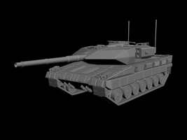 Status Highpoly Tank (finished) 07.03.2012 by f1r3w4rr10r