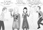 hammers THOR-SUPERNATURAL crossover by Lyrin93