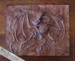 Specimen 1324-AT - Fossil Drakeling Skeleton by Nightlyre