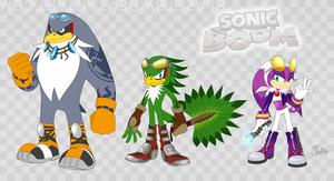Sonic Boom Designs - Babylon Rogues by BlazeTBW
