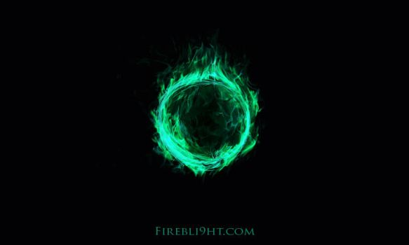 Flaming Fel Fire Ball of Awesome by Firebli9ht
