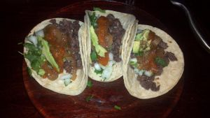 Street-styled tacos... made at home instead. by FutureChefHaku