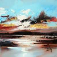 Islay Shore Study by NaismithArt