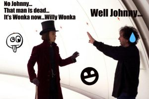 Willy Wonka and Tim Burton by TheAnOo