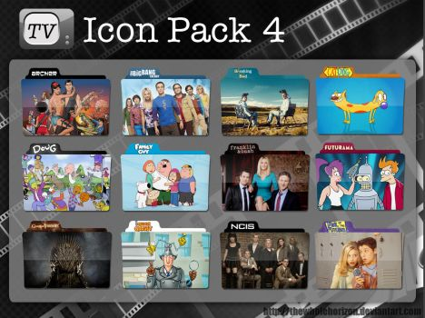 TV Icon Pack 4 by thewholehorizon