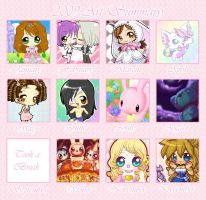 .:2009 Art Summary:. by PhantomCarnival
