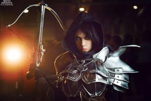 Demon Hunter cosplay by Pvt-Waffles