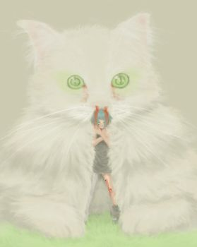 The Rented Cat by acr0petal