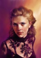 scarlett johanson by claw0208