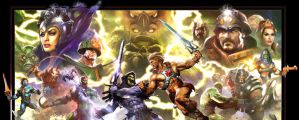 Old School Masters of the Universe by FNHot
