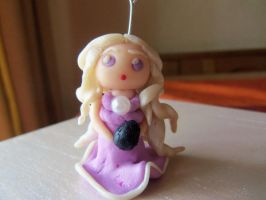 Polymer clay Daenerys by Morrigan22