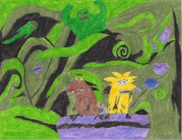 Dag and Norb in the Ghost Zone by MikeSpikester11