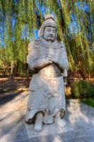 Ming Tombs Shisan Ling Beijing China by davidmcb