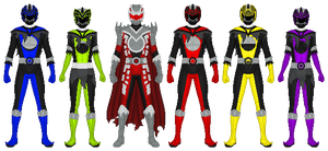 Power Rangers: Lunar Strike by partiallyBatty