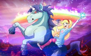 Star vs. the Forces of Evil by shamserg