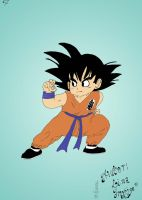 New Son Goku by LinaInverse-Sad