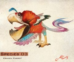 Species 03 - Kraken Parrot by malta