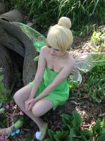 tinker bell cosplay by Iris-Iridescence