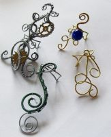 Earcuffs I've made by Craftcove