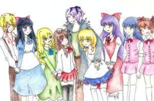 RPG horror characters 2 by AliceCat33