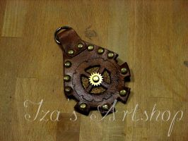 Steampunk Key Fob by izasartshop