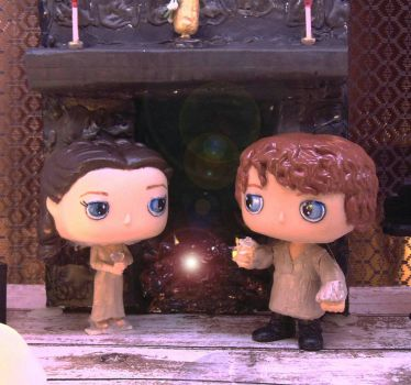 Outlander Custom Pops Claire Jamie's Wedding Night by tool8smart