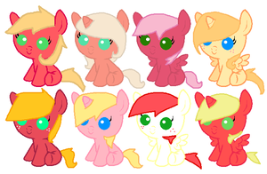 Fluttermac Adopts by Honey-PawStep