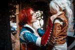 The Witcher - Triss and Ciri by fenixfatalist