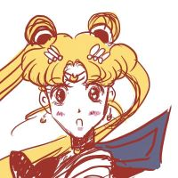 Flashback -- Sailor Moon by QDoodle