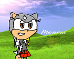 Monera the Hedgehog Wallpaper by sonic4ever760