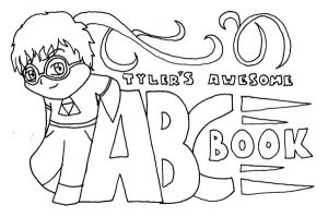 Tyler's Awesome ABC Book by CTCorbett