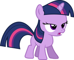 Twilight Sparkle Filly by imageconstructor