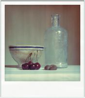 fake polaroid still life by ashveenp