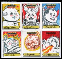 GPK Flashback sketch cards 6 by DeJarnette