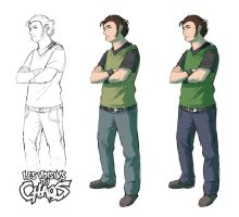 Chara design research 14 by Tohad