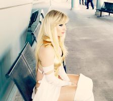 Emma Frost Ponders by CosplayButterfly