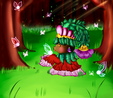 Deep in the Fairy Forest by Keaton-Corrine