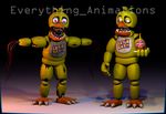 FNAF 2 Chica by EverythingAnimations
