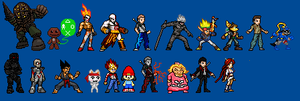PlayStation Sprite-Stars by LeeHatake93