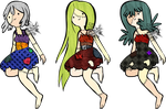 Zombie Girls batch 1 (35 pts) closed by Tygerlanders-adopts