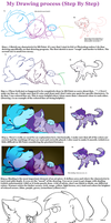 Tutorial {How I draw Step By Step} by VioletKat-214