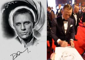 Daniel Craig - James Bond 007 by sebus195