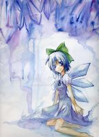 Ice Fairy Cirno by nyotaro