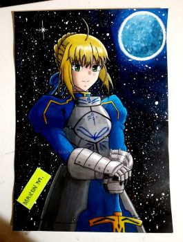 Saber/Fate Stay Night by Maicon1990