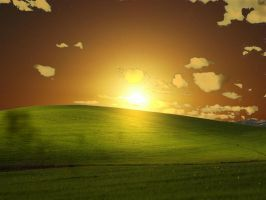 Sunset in Windows Xp by gfernandesp