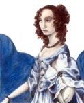 Portrait in Blue by InvisiblePen
