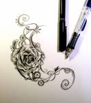 Rose Design by Lucky978